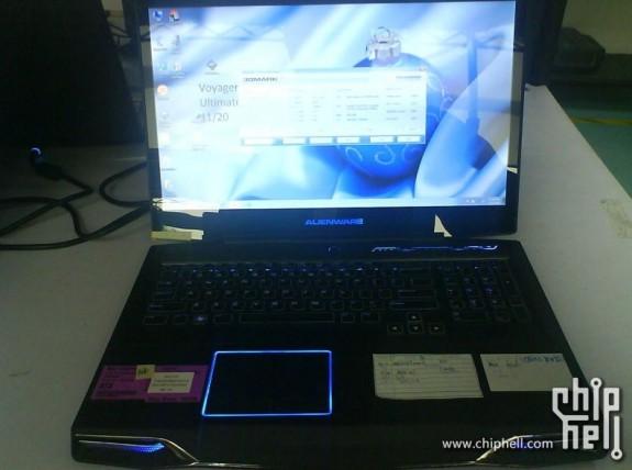 Ноутбук Alienware M17x