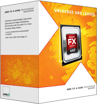 Коробки AMD Bulldozer FX