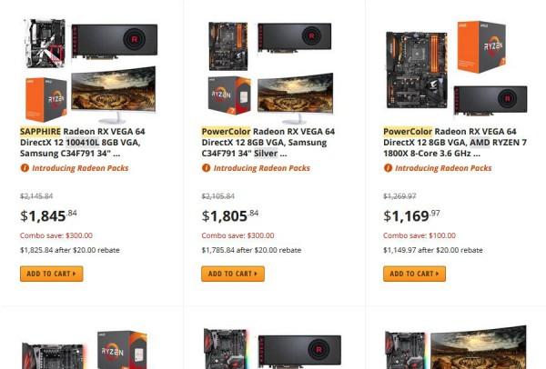 Radeon RX Vega 64 Radeon Pack