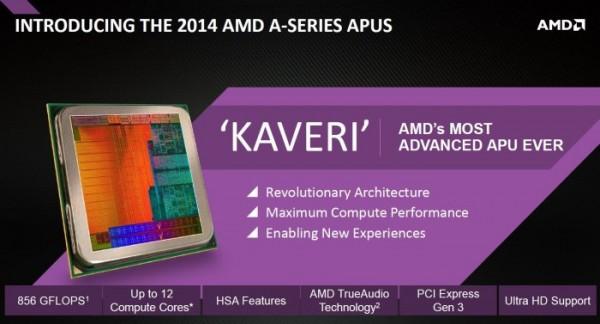 AMD Kaveri A8-7600