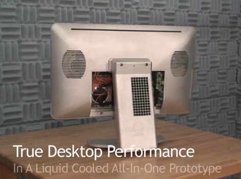 Моноблочный компьютер Asetek с системой жидкостного охлаждения