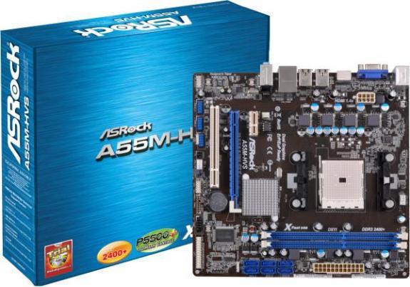 ASRock A55M-HVS