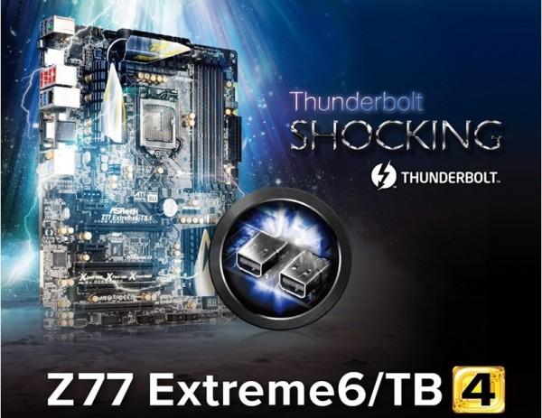 ASRock Z77 Extreme6TB4