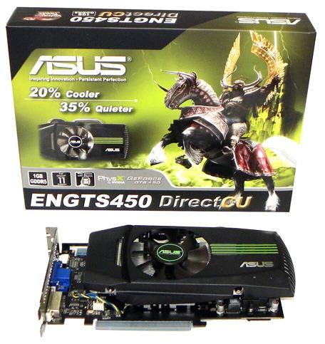 Видеокарта ASUS GeForce GTS 450 DirectCU
