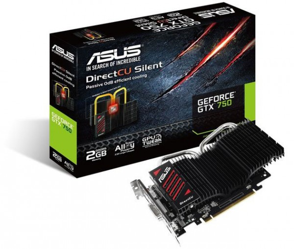 ASUS GeForce GTX 750 GTX750-DCSL-2GD5
