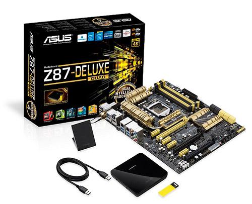 ASUS Z87 DeluxeQuad