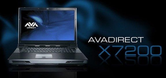 Ноутбук AVADirec Clevo X7200