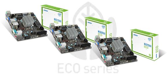 MSI, N3050I ECO, N3150I ECO , N3050I ECO