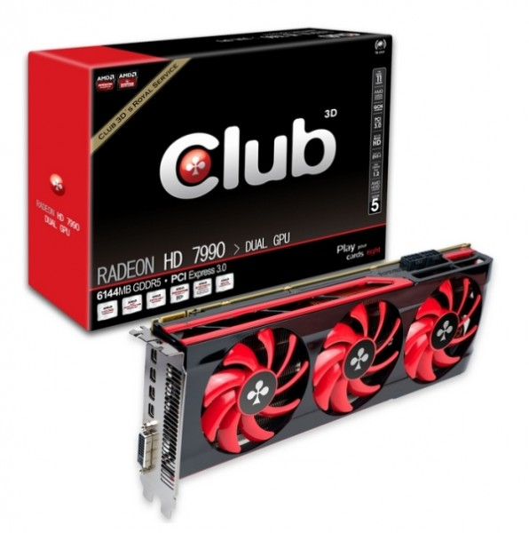 Club3D Radeon HD 7990 Malta
