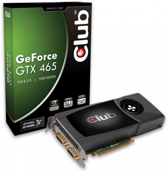 Club 3D GeForce GTX 465