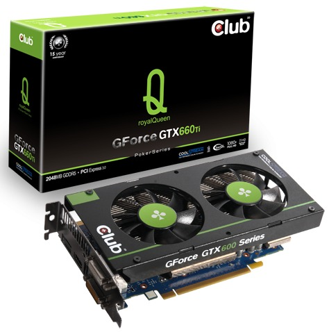 Club 3D GForce GTX 660 Ti royalQueen