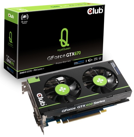 Club 3D GForce GTX 670 royalQueen