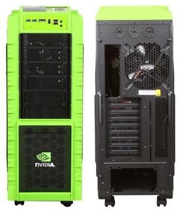 Корпус Cooler Master HAF X Nvidia Edition