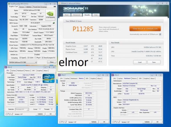 Elmor 3DMark 11