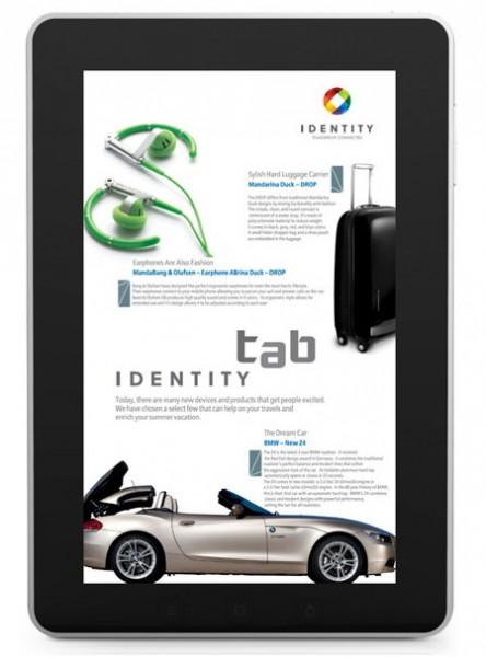 Планшет Enspert Identity Tab E201U