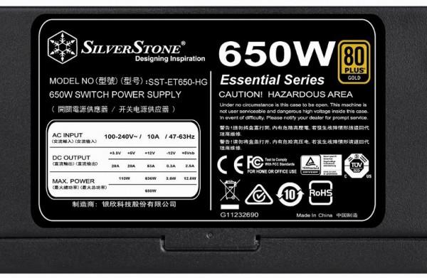 SilverStone Essential ET-HG
