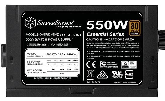 SilverStone SST-ET650-B