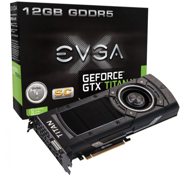 EVGA GeForce GTX TITAN-X Superclocked