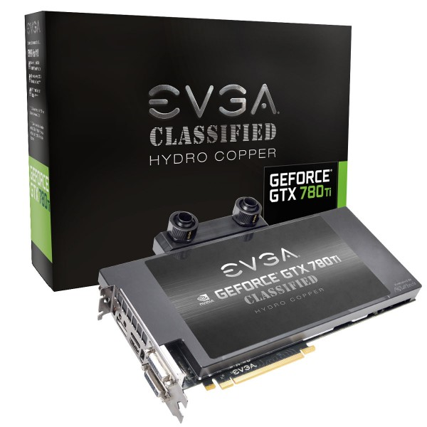 EVGA GeForce GTX 780 Ti Dual Classified w EVGA Hydro Copper Watercooler