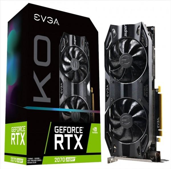 EVGA GeForce RTX 2070 SUPER KO, EVGA GeForce RTX 2080 SUPER KO