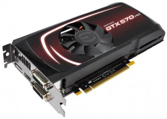 EVGA GeForce GTX 570 HD 2560 МБ
