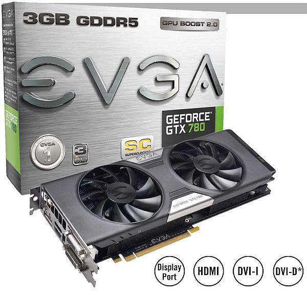 EVGA GeForce GTX 780 Superclocked w EVGA ACX Cooler