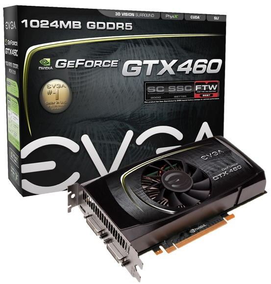 Видеокарта GeForce GTX 460 FTW