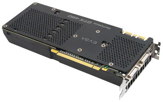 EVGA GeForce GTX 480 SuperClocked+