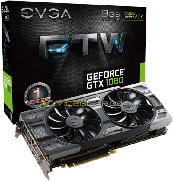 EVGA GeForce GTX 1080 FTW