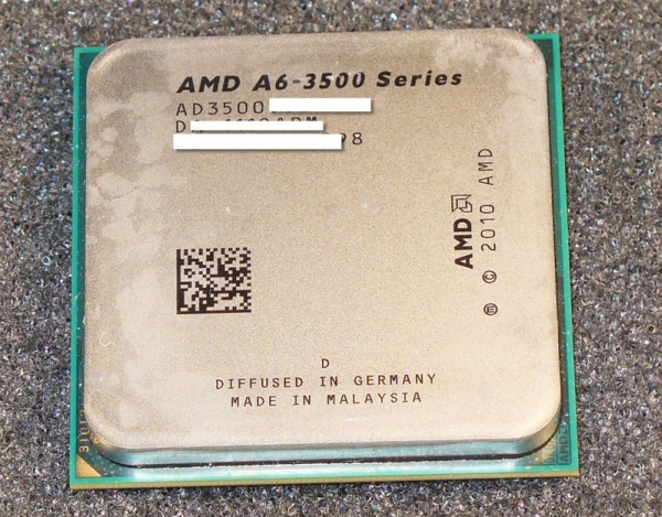 APU AMD A6-3500