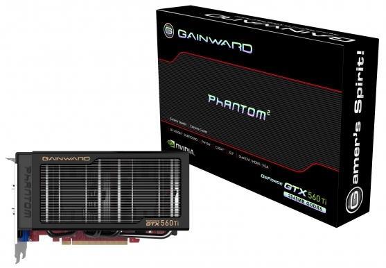 Видеокарта Gainward GeForce GTX 560 Ti Phantom 2 ГБ
