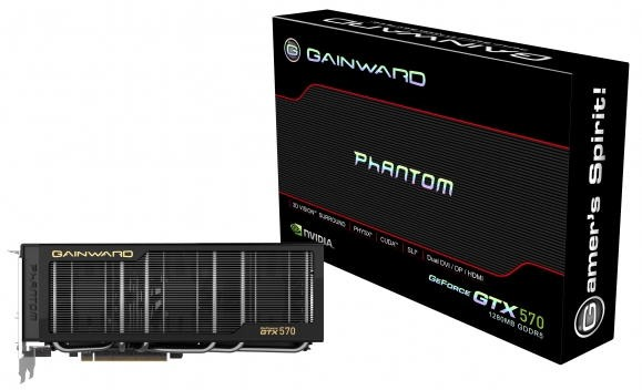 Видеокарта Gainward GTX 570 Phantom