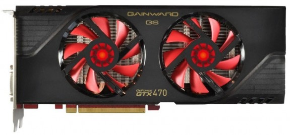 Gainward GeForce GTX 470 Golden Sample