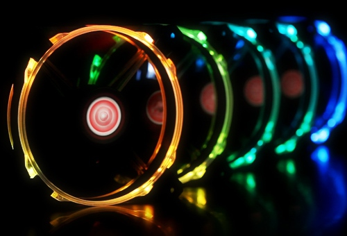 Raijintek Macula 120 Rainbow RGB
