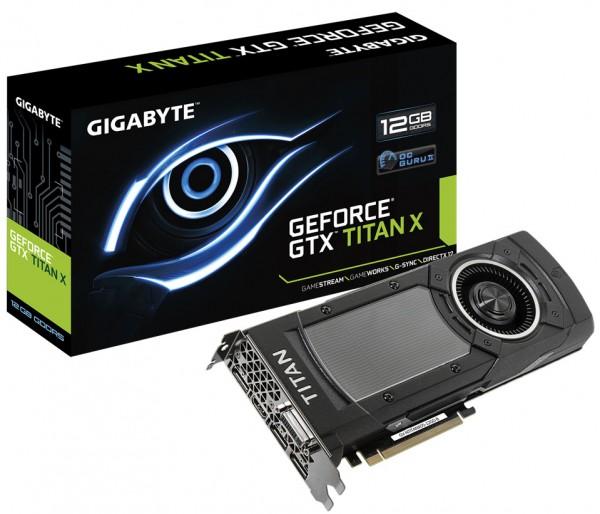 Gigabyte GeForce GTX TITAN-X (GV-NTITANXD5-12GD-B)