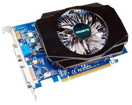 Видеокарта Gigabyte GV-N430OC-1GI