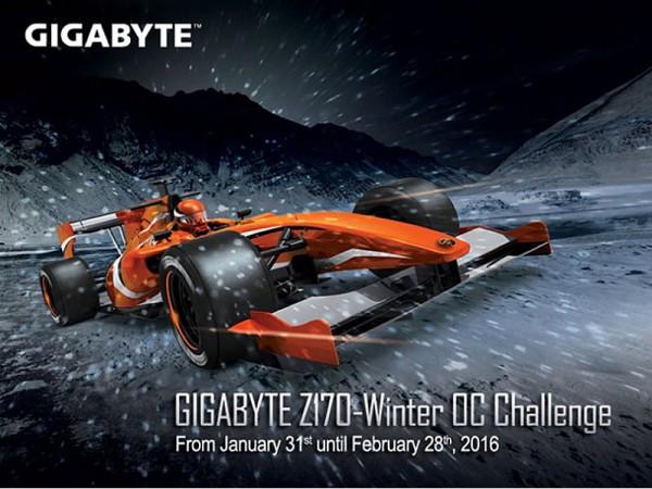 GIGABYTE-Z170 Winter OC Challenge