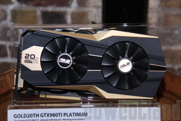 ASUS GTX 980 Ti 20th Anniversary Edition Gold Platinum
