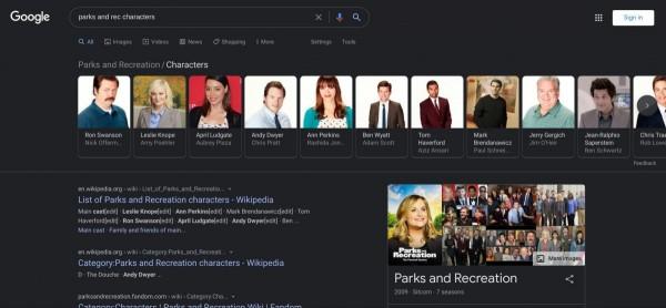 Google Поиск, Googlе Search, Googlе Search Dark Theme