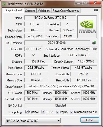 GPU-Z 0.5.5