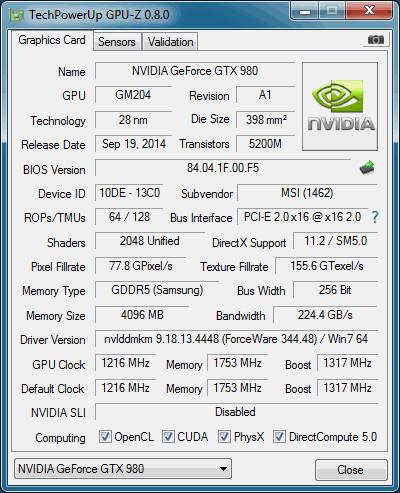 GPU-Z 0.8.0