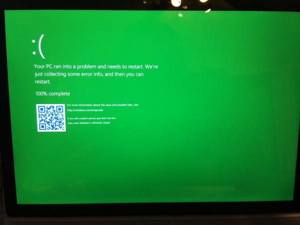 Green Screen fo Death