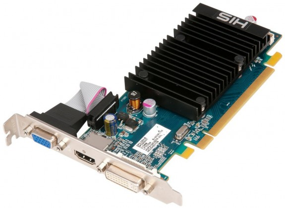 Видеокарта HIS Radeon HD 5450 2 ГБ Silence