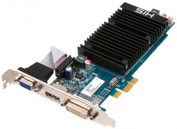 Видеокарта HIS Radeon HD 5450 Silent