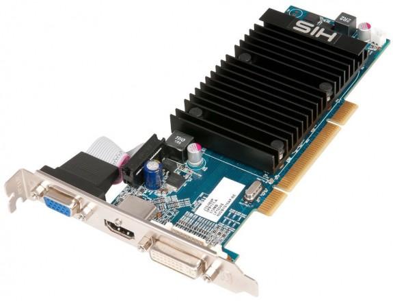 Видеокарта HIS Radeon HD 5450 PCI