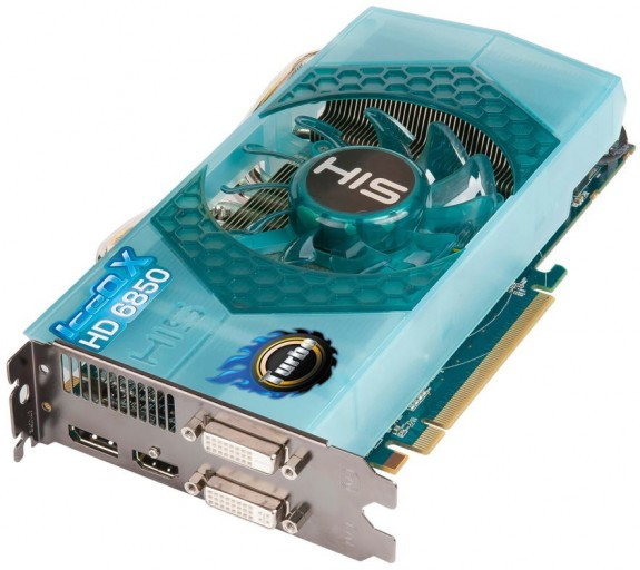 Видеокарта HIS Radeon HD 6850 IceQ X Turbo