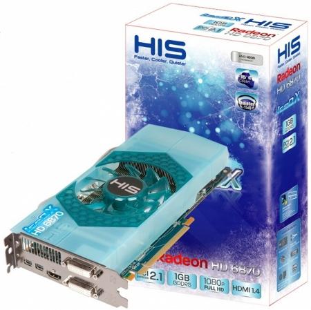 HIS Radeon HD 6870 IceQ X