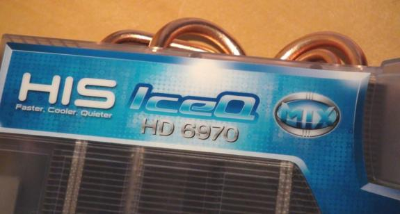 Видеокарта HIS Radeon HD 6970 IceQ Mix