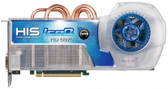 Видеокарта HIS Radeon HD 6970 IceQ Turbo