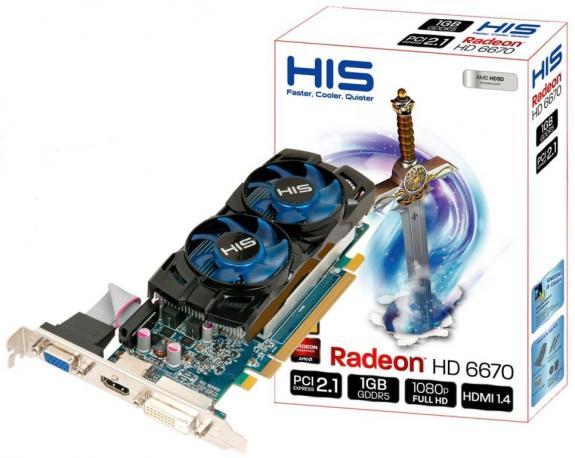 HIS Radeon HD 6670 Fan